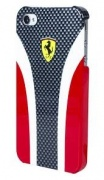 Чехол Ferrari Hard Case Scuderia Carbon Collection Red для iPhone 5 от CG Mobile (FESCHCIP5CR)