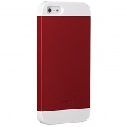 Чехол O!coat Wardrobe+ White/Red/White для iPhone 5 от Ozaki (OC549WH/RD/WH)
