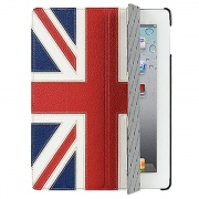 Чехол Leather Case Slimme Cover The Nations Britain для iPad2/The New iPad/iPad 4 от Melkco